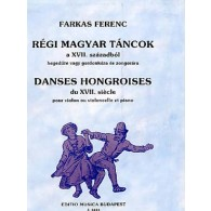 FARKAS F. OLD HUNGARIAN DANCES FROMTHE 17TH CENTURY VIOLONCELLE