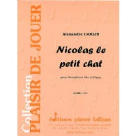 CARLIN A. NICOLAS LE PETIT CHAT SAXO MIB