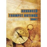 RESKIN C. ADVANCED TRUMPET OUTINGS BOOK 1