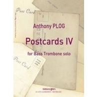 PLOG A. POSTCARDS IV TROMBONE