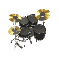 FIRTH SOURDINES PACK STD 22+2 CYMBALES
