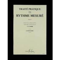 FONTAINE F. TRAITE PRATIQUE DU RYTHME MESURE VOL 2