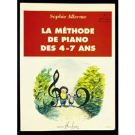 ALLERME S. METHODE DE PIANO DES 4 - 7 ANS