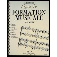 LABROUSSE M. COURS DE FORMATION MUSICALE 1RE ANNEE