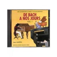 DE BACH A NOS JOURS VOL 1A PIANO CD