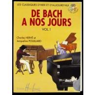 DE BACH A NOS JOURS VOL 1A PIANO