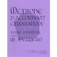 FERRERO M. METHODE ACCORDEON CHROMATIQUE 3ME CYCLE