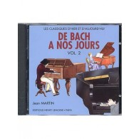 DE BACH A NOS JOURS VOL 2A PIANO CD