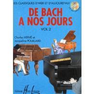 DE BACH A NOS JOURS VOL 2A PIANO