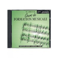 LABROUSSE M. COURS DE FORMATION MUSICALE 3ME ANNEE CD
