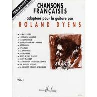 DYENS R. CHANSONS FRANCAISES GUITARE
