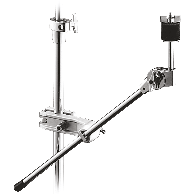 STAND BATTERIE PEARL CYMBALE LEGERE + CLAMP