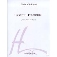 CREPIN A. SOLEIL D'HIVER FLUTE