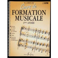 LABROUSSE M. COURS DE FORMATION MUSICALE 4ME ANNEE