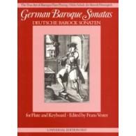 GERMAN BAROQUE SONATAS FLUTE