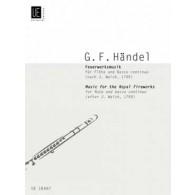 HAENDEL G.F. FIREWORKS FLUTE