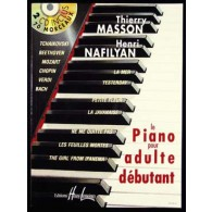 MASSON T. LE PIANO POUR ADULTE DEBUTANT