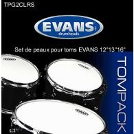 PEAUX DE TOM EVANS G2 TRANSPARENTE STANDARD 12 13 16
