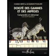 HERVE C./ POUILLARD J. DOIGTE DES GAMMES ET DES ARPEGES PIANO