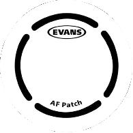 EVANS PATCH GROSSE CAISSE SIMPLE BATTE FIBRE ARAMIDE X2