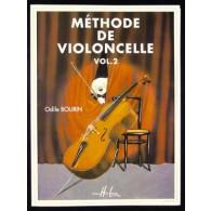 BOURIN O. METHODE DE VIOLONCELLE VOL 2