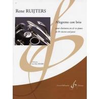 RUIJTERS R. ALLEGRETTO CON BRIO CLARINETTE