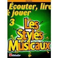 LES STYLES MUSICAUX CLARINETTE