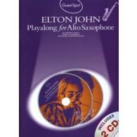 GUEST SPOT ELTON JOHN PLAY-ALONG SAXO ALTO