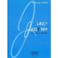 GHIDONI A. LIRICO JAZZY DUO FLUTE ET CLARINETTE