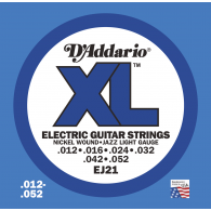 JEU DE CORDES D'ADDARIO REGULAR JAZZ LIGHT EJ21