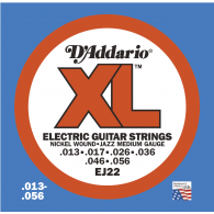 JEU DE CORDES D'ADDARIO REGULAR JAZZ MEDIUM EJ22