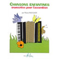 MAUGAIN M. CHANSONS ENFANTINES ACCORDEON