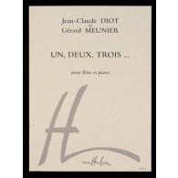 MEUNIER G./DIOT J.C. UN DEUX TROIS FLUTE