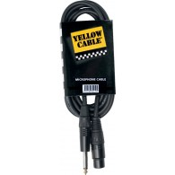 CABLE MICROPHONE YELLOW CABLE M01J