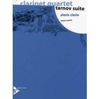 CIESLA A. TARNOV SUITE QUATUOR CLARINETTES