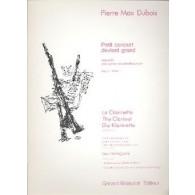 DUBOIS P.M. PETIT CONCERT DEVIENT GRAND VOL 2 CLARINETTES