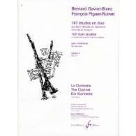 GAVIOT-BLANC B. 167 ETUDES EN DUO VOL 1 CLARINETTES