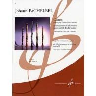 PACHELBEL J. CANON CLARINETTES