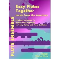 EASY FLUTES TOGETHER MUSIC FROM THE AMERICA