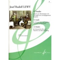 LEWY J.R. 12 ETUDES VOL 1 COR