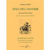 POPP W. STACCATO-FANTAISIE FLUTE