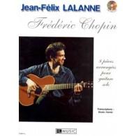 CHOPIN F. / LALANNE J.F 8 PIECES GUITARE SOLO