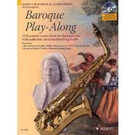BAROQUE PLAY-ALONG SAXOPHONE ALTO