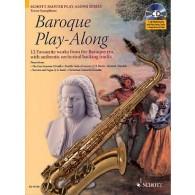 BAROQUE PLAY-ALONG SAXOPHONE TENOR