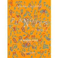 ALLERME J.M. PIANOTES JAZZ LIVRE 1 PIANO 4 MAINS