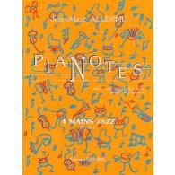 ALLERME J.M. PIANOTES JAZZ LIVRE 1 PIANO 4 MAINS