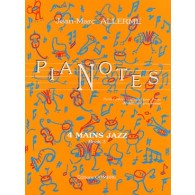 ALLERME J.M. PIANOTES JAZZ LIVRE 3 PIANO 4 MAINS