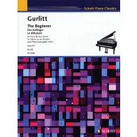 GURLITT C. THE BEGINNER PIANO 4 MAINS