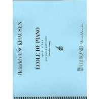 ENCKHAUSEN H. ECOLE DE PIANO OP 84 VOL 2 PIANO 4 MAINS