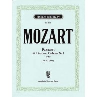 MOZART W.A. CONCERTO N°1 K 412 COR